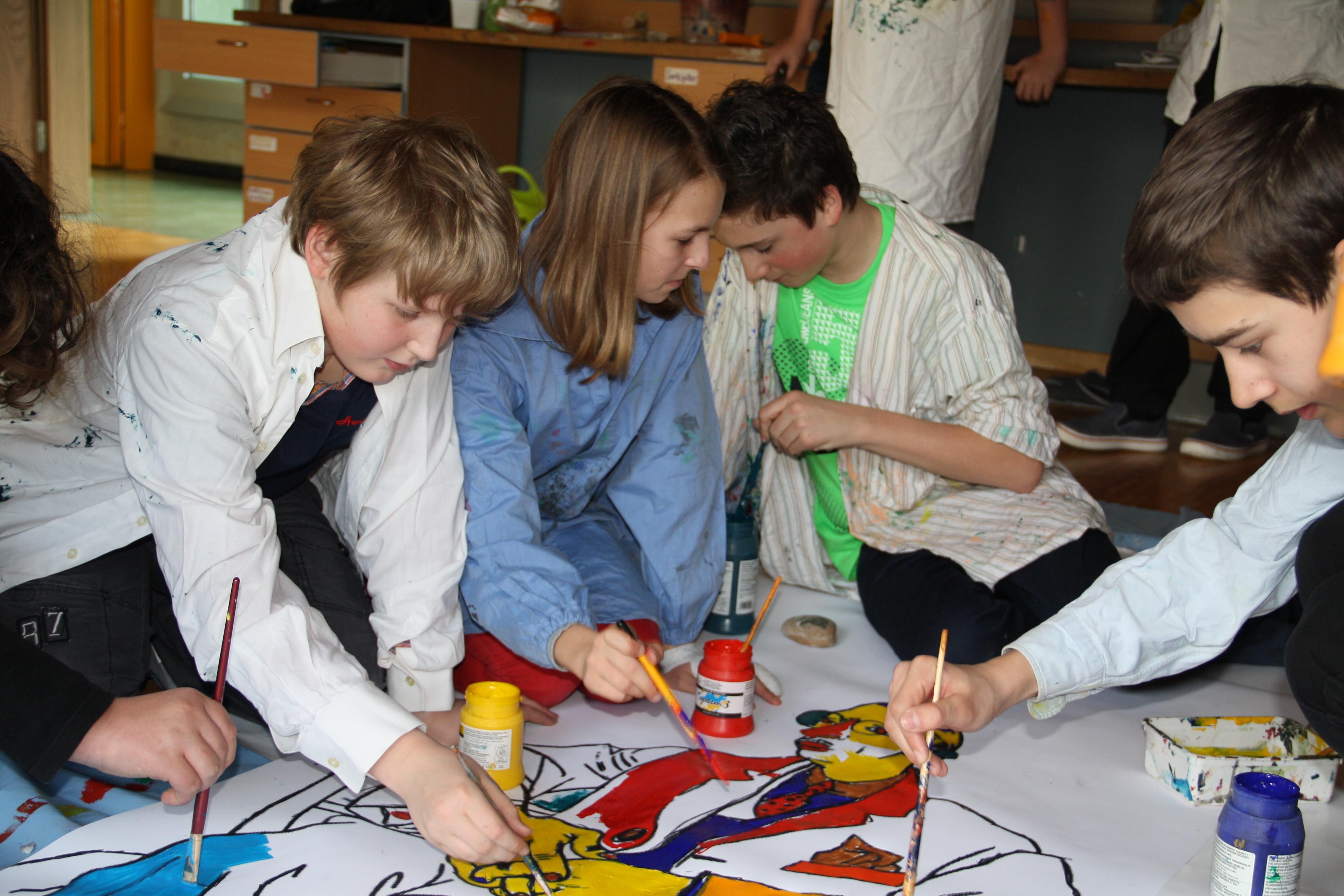 2013 Pulcinella Workshop / Europaschule Linz