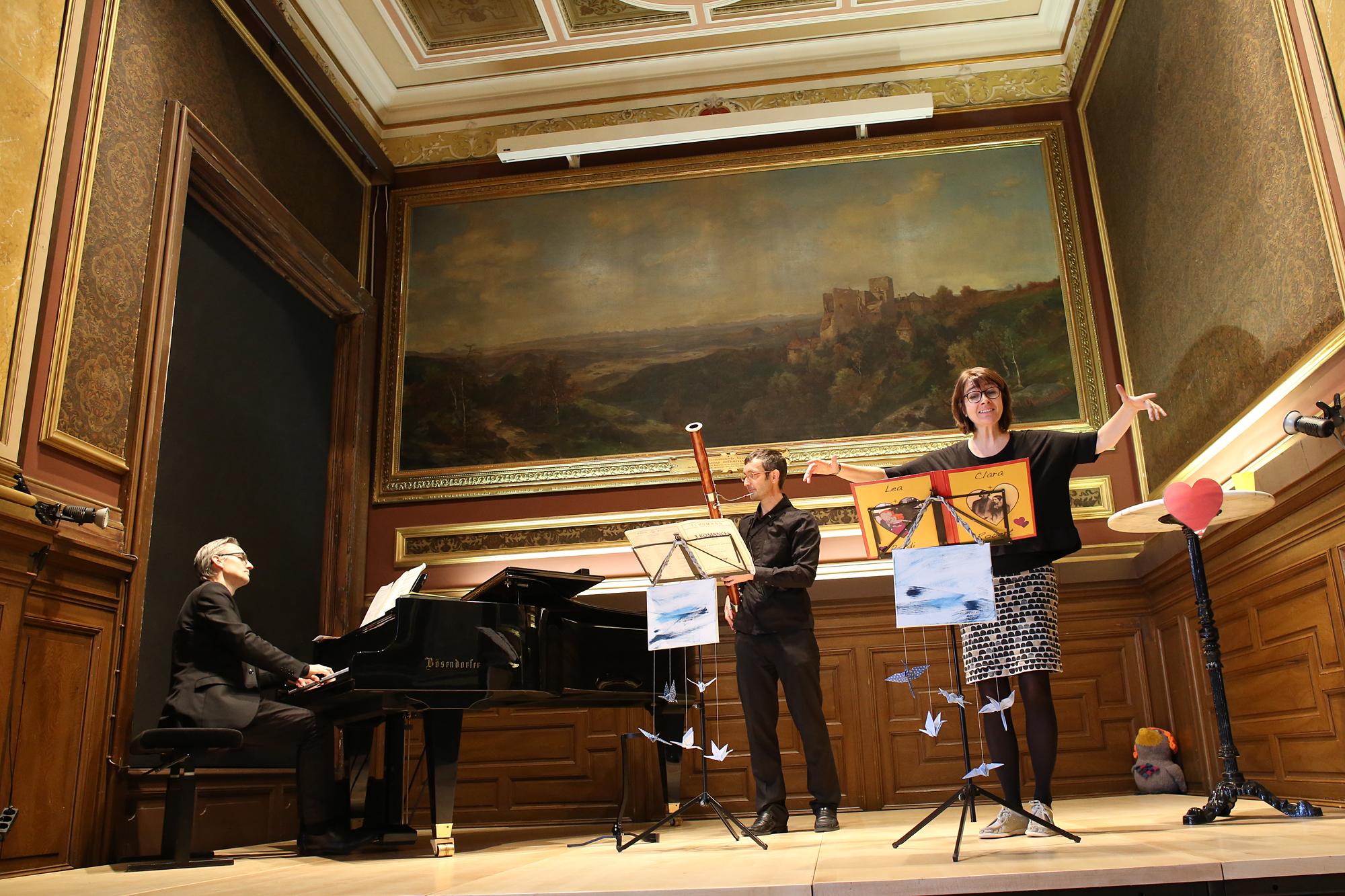 """2016 Poldis Kleine Konzerte """"Hand in Hand"""" - mit Johannes Wregg, Gerhard Hofer und Poldi / Foto: R. Winkler"""