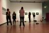"""2017 Kunsthalle Wien / Workshopleitung und Performance """"Mehr als nur Worte"""" / MAE Studiengang der MUK Privatuniversität der Stadt Wien / Foto: Martin Walkner"""