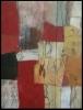 Angeeckt / 79,5 x 40 und 79,5 x 20 / Acryl und Sepia auf Leinen / © Eche Wregg