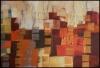 Auf Säulen / 120 x 80 / Acryl, Sepia und Kohle auf Leinen / © Eche Wregg