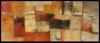Es gibt nicht nur einen Nabel der Welt / 95 x 39 / Acryl und Pastellkreide auf Leinen / © Eche Wregg