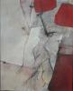 Fast Herzen 2/2 / 42 x 51 / Kohle und Acryl auf Leinen / © Eche Wregg