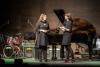 2018 Moderation zu Benefizkonzert im Kultur Quartier Kufstein / im Bühnengespräch mit E. Zanon / Foto: G. Spielmann