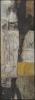 Und warten / 61 x 21 / Acryl und Kohle auf Leinen / © Eche Wregg